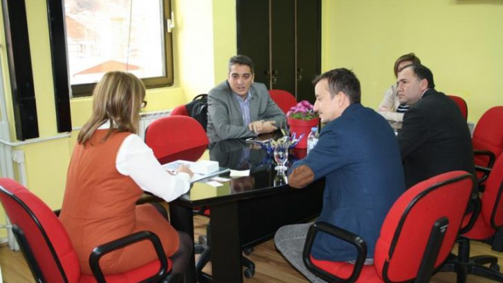 Работна средба на Градоначалникот на општина Македонска Каменица