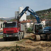 Изградба на улица Пере Тошев