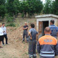 Започна чистењето на базените од водоводната мрежа во Македонска Каменица