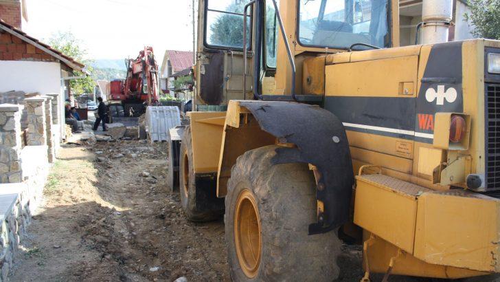 """Започната реконструкција и доизградба на улица """"Вера Јоциќ"""""""