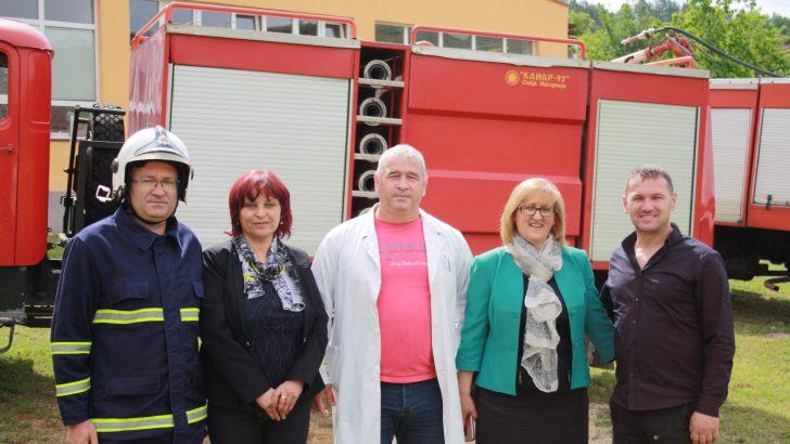Одбележан Денот на пожарникарството