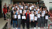 Прием на наградени ученици на државни натпревари од Македонска Каменица