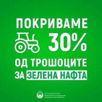 Известување: Земјоделците од Македонска Каменица во петок ќе ги подигнат Картичките за зелена нафта