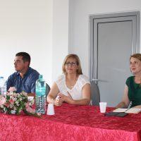 """Работен состанок на тема """"Придобивки од спроведувањето на проектот за регионално управување со отпад во Источниот и Североисточниот плански регион во општина Македонска Каменица"""""""