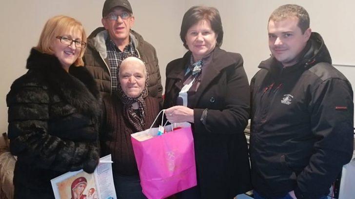 Новогодишни солидарни пакети за болните и изнемоштени пензионери од Македонска Каменица