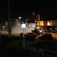 Извршена дезинфекција на градските улици во Македонска Каменица