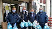 Заштитни медицински маски за домаќинствата во Македонска Каменица