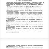 Дневен ред на XLI (41-та) Седница на Совет на општина Македонска Каменица